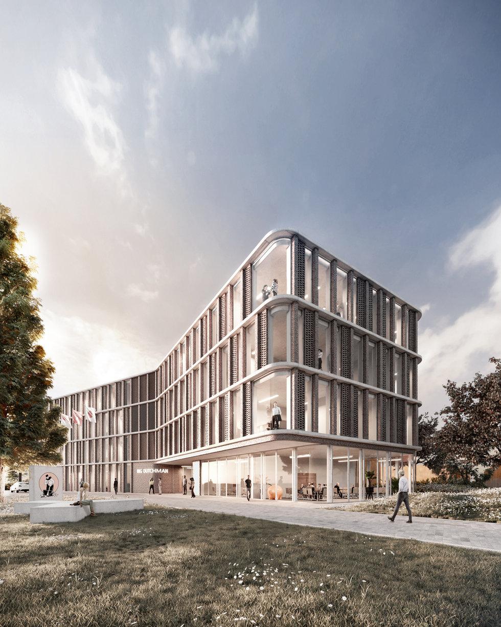 bürogebäude, vechta - diefabrik x braunlocher architekten
