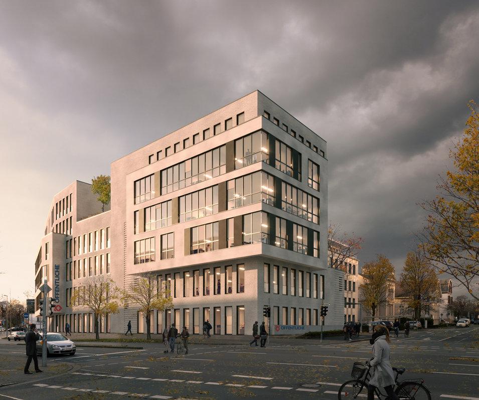 bürogebäude öffentliche, oldenburg - g + h architekten