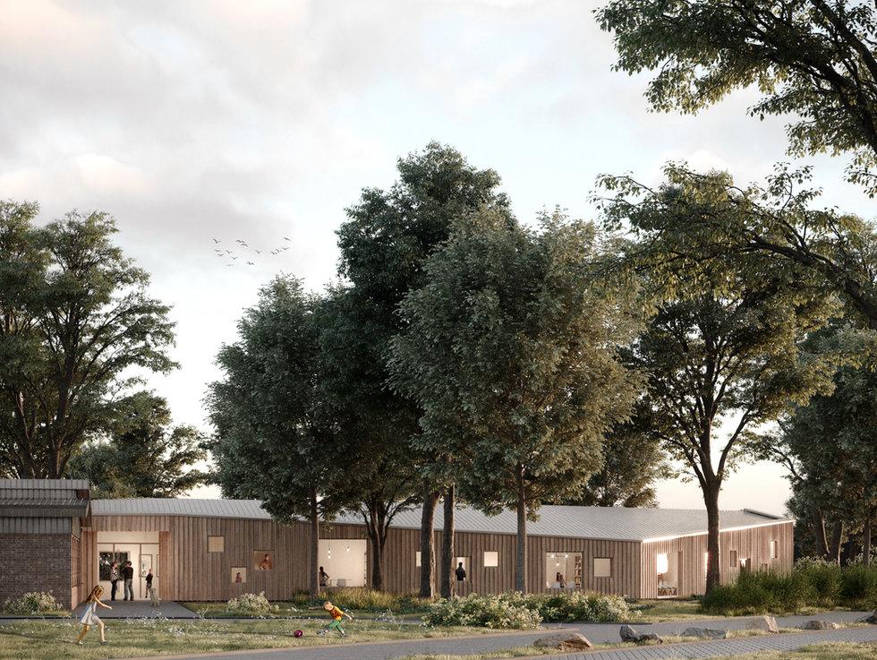 kinder und jugendpsychiatrie, oldenburg - neun grad architekten