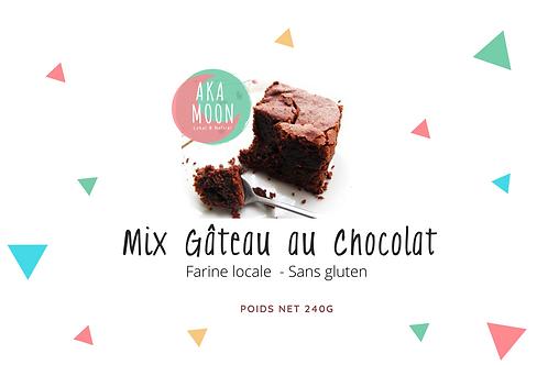 Mix de farine locale prêt à l'emploi pour gâteau au chocolat