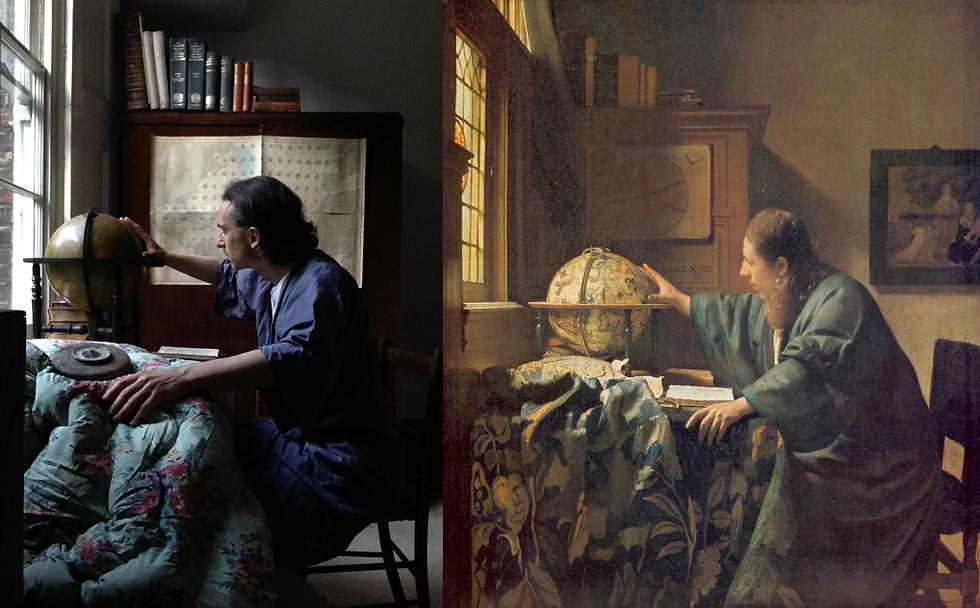 2nd Going Global (Vermeer, Astronomer, 1