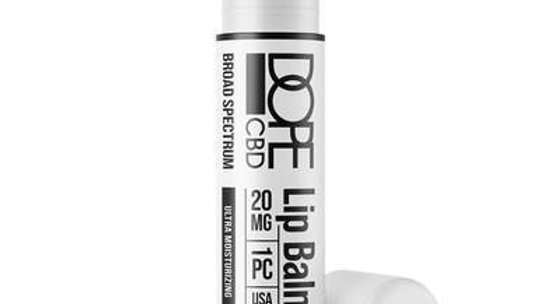 Dope CBD - CBD Topical - Broad Spectrum Moisturizing Lip Balm - 20mg