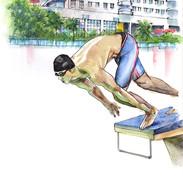 HKUST swimmer