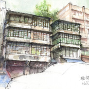 Kowloon City old buildings