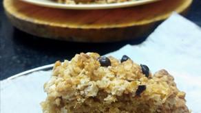 Vanilla crumble cake