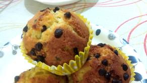 Zesty Orange muffins - chocochip or chia seeds