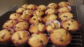 Banana chocochip muffins
