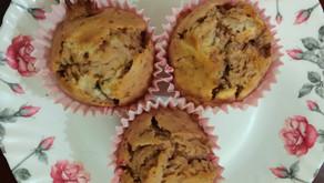 Eggless Rose cupcakes