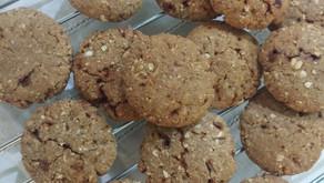 Healthy Ragi Oats Wheat cookies