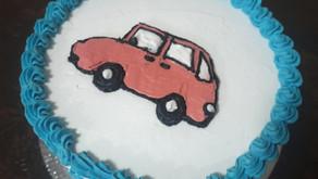 Eggfree and dairy free birthday cake