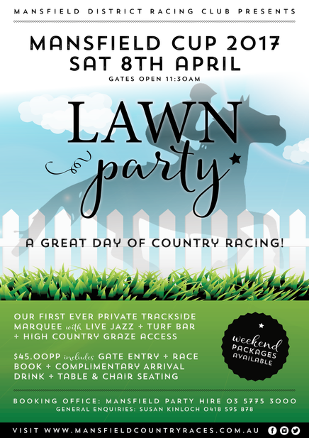 OUR FIRST EVER LAWN PARTY!