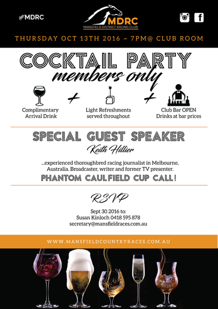 MEMBERS COCKTAIL PARTY!