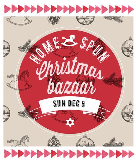 Our first ever Christmas Bazaar!
