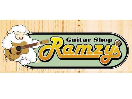 ギターショップ ラムジーズさん
