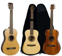 持ち運びやすいトラベルギター