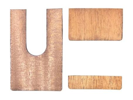 木製トラベルバッグギターをもっと魅力的にする魔法の板!