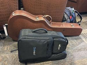 ジャーニーのトラベルギターのコンパクトな専用バックパック