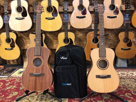 ワタナベ楽器店さんでJourneyトラベルバッグシリーズのお取り扱い開始になりました!