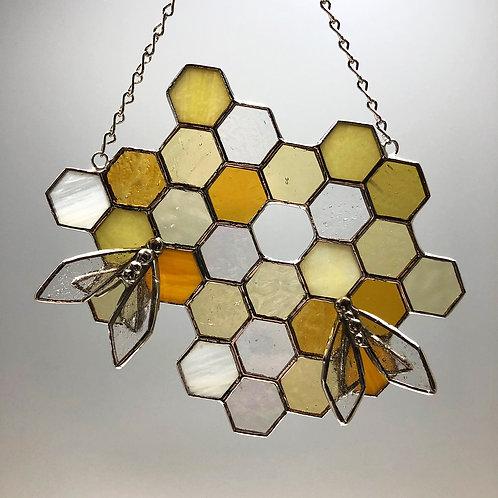 Honeycomb Suncatcher #3
