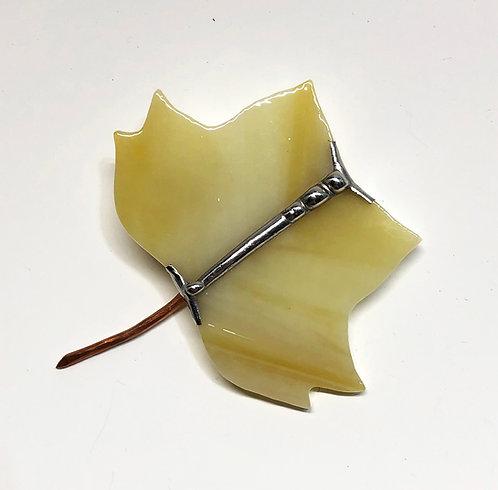 Tulip Poplar Shawl Pin