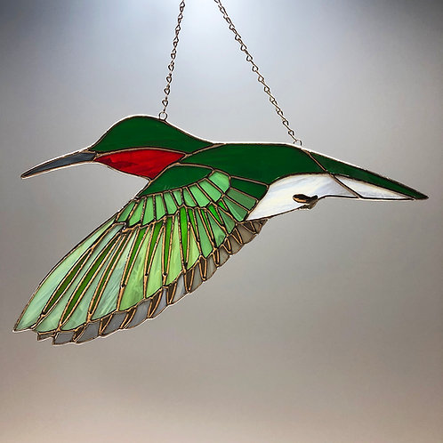 Hummingbird in Flight - Ready to Ship