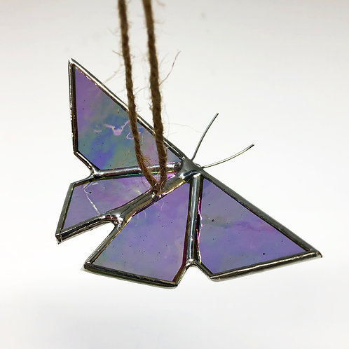 Iridescent Purple Origami Butterfly - Ready to Ship
