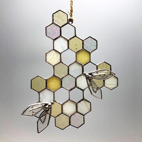 Honeycomb Suncatcher #6