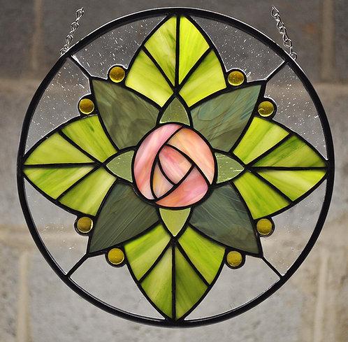 Round Rose Pattern