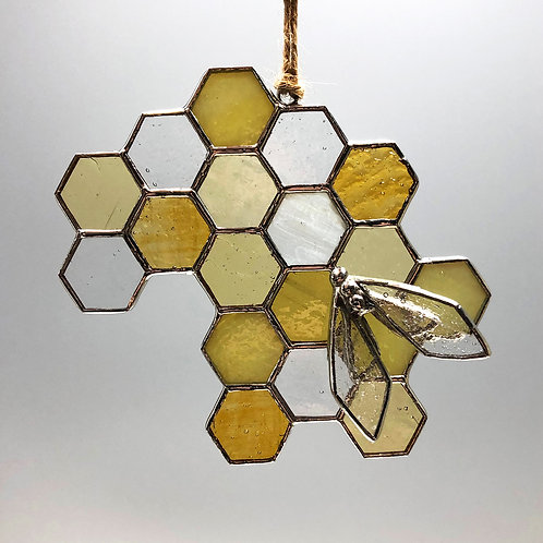 Honeycomb Suncatcher #5