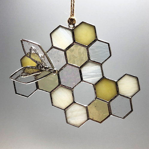 Honeycomb Suncatcher #7