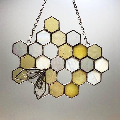 Honeycomb Suncatcher #2