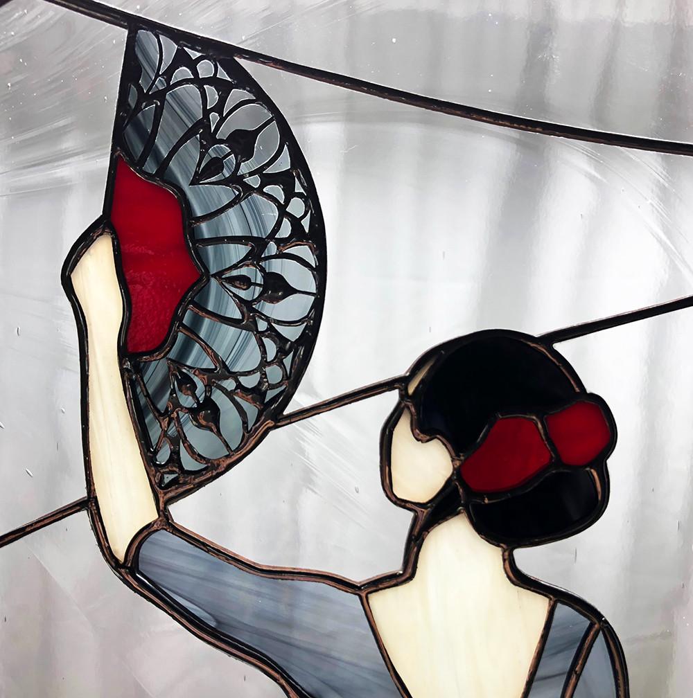 Flamenco Fan Detail