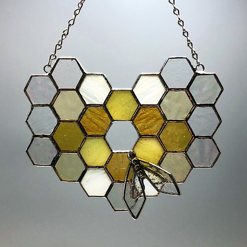 Honeycomb Suncatcher #1