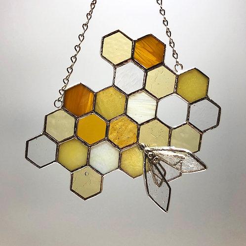 Honeycomb Suncatcher #9