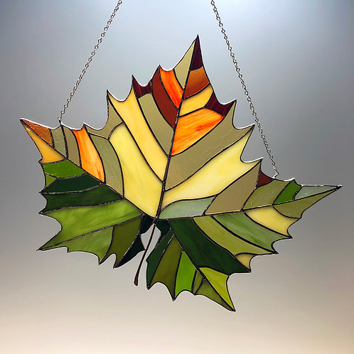 Sycamore Leaf Seasonal Shift -Ready to Ship