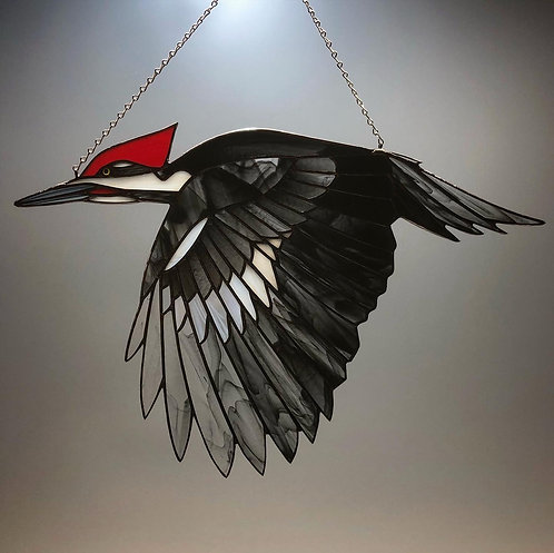 Pileated Woodpecker #1 - Ready to Ship
