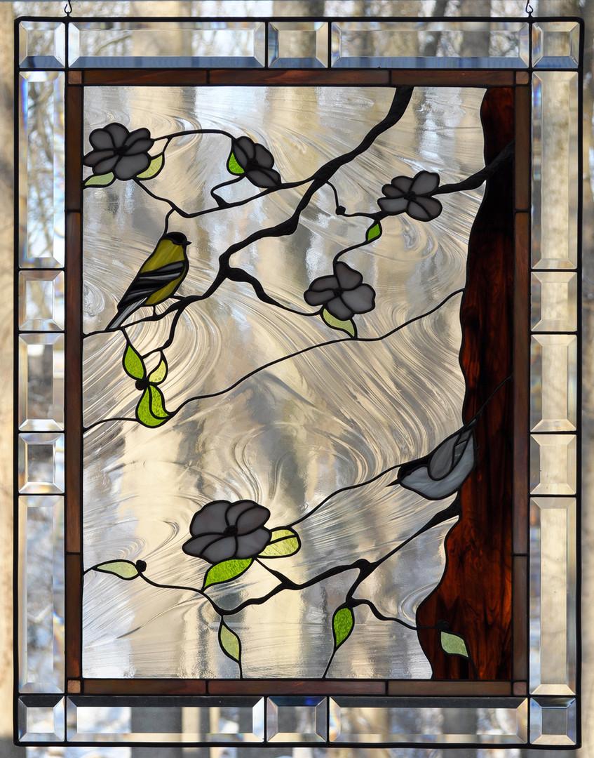 Dogwood and Birds