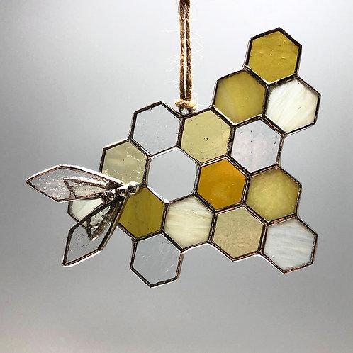 Honeycomb Suncatcher #8