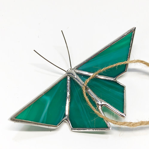 Teal Origami Butterfly - Ready to Ship