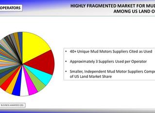 US Land Operators Report Using Multiple Mud Motor Suppliers