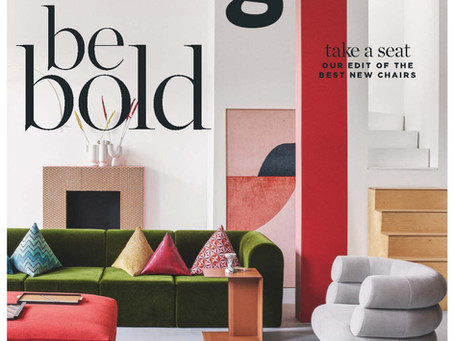 Living Etc UK, March 2020. Be bold