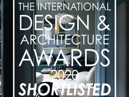 The International Design & Architecture awards 2020 - shortlisted