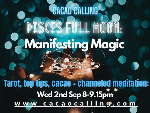 Channeled Meditation Event: Manifesting Magic