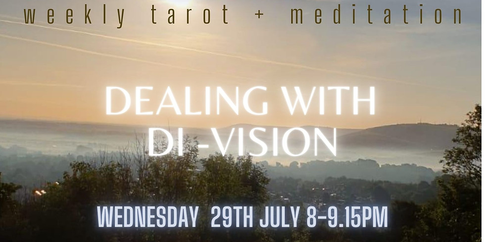 Meditation Event: Dealing with Di-Vision