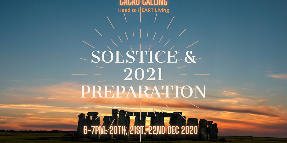 The Solstice and 2021 Preparation Event