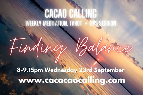 copy of Channeled Meditation Event: Finding Balance