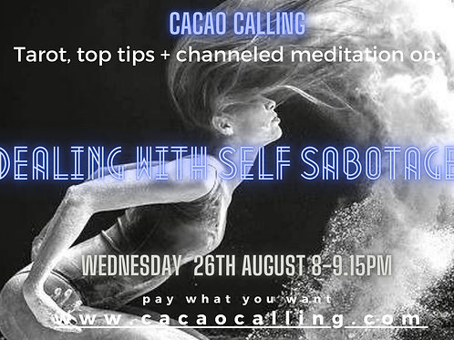 Dealing with Self sabotage Event + Toolkit