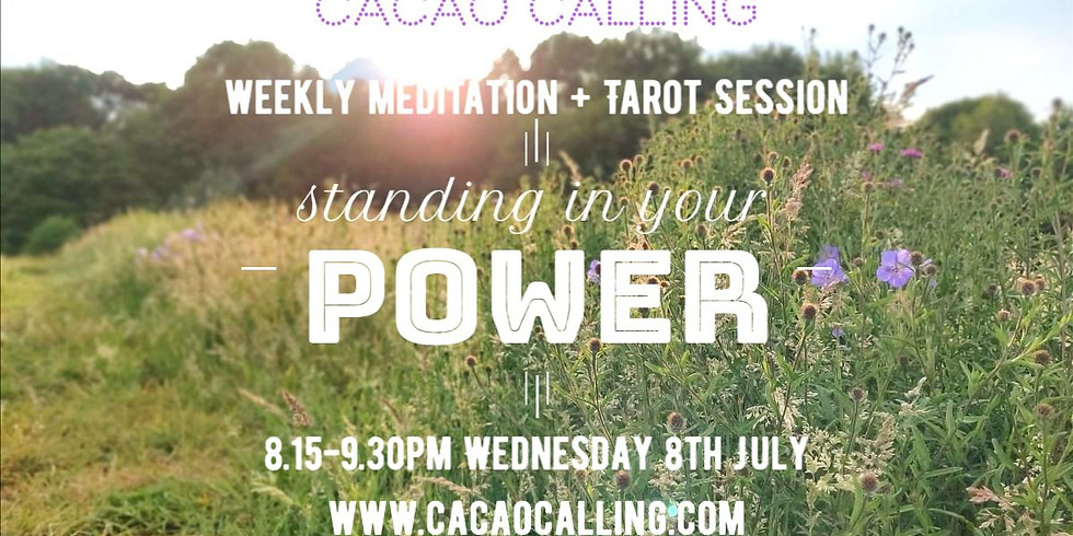 Meditation Event: Standing in Your Power, Your Way