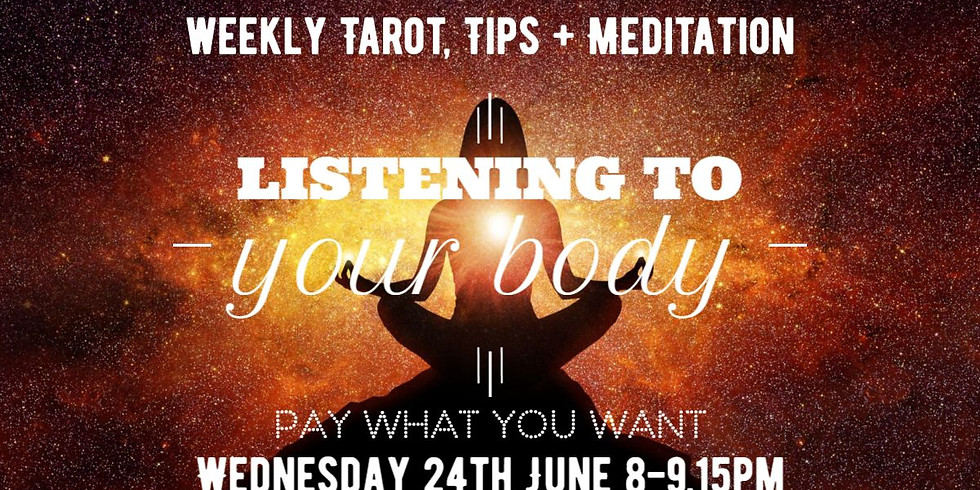 Meditation Event: Listening to your body