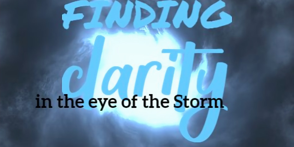 Meditation Event: Finding Clarity in the eye of the storm